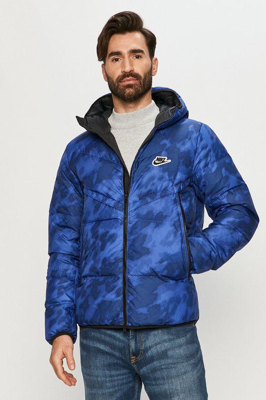 niebieski Nike Sportswear - Kurtka puchowa Męski