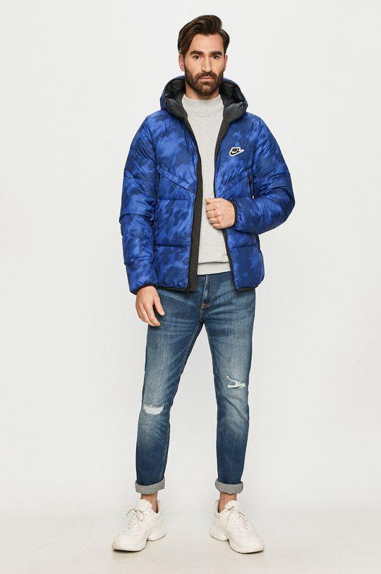Nike Sportswear - Geaca de puf albastru