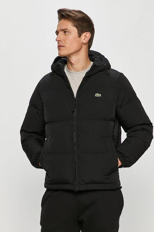 černá Lacoste - Péřová bunda Pánský