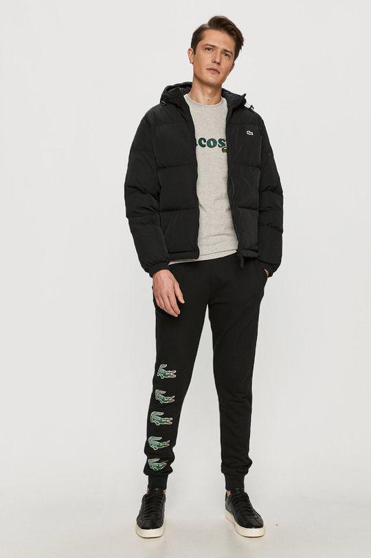 Lacoste - Péřová bunda černá