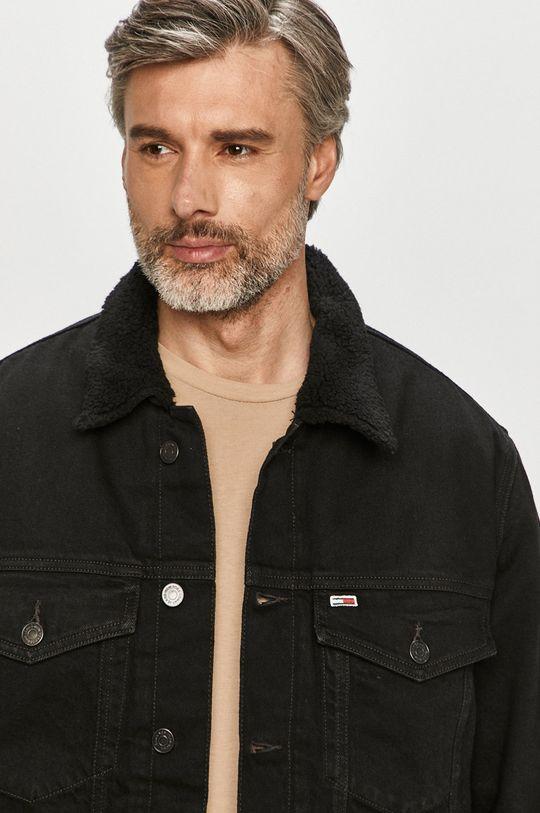 černá Tommy Jeans - Džínová bunda