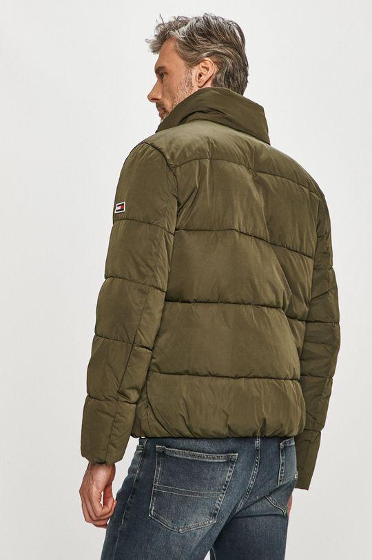 Tommy Jeans - Bunda  Podšívka: 100% Polyester Výplň: 100% Polyester Hlavní materiál: 80% Polyamid, 20% Polyester Stahovák: 3% Elastan, 97% Polyester