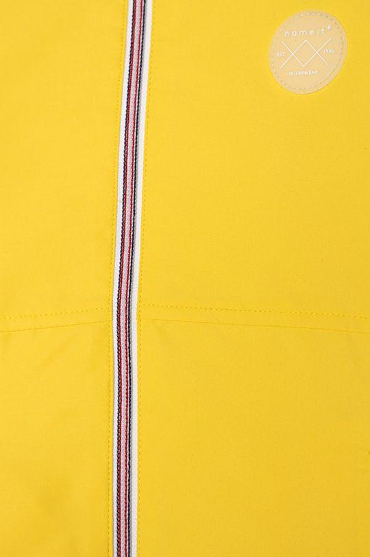 Name it - Kurtka dziecięca 116-152 cm jasny żółty