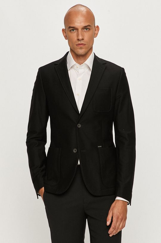 negru Guess Jeans - Sacou De bărbați