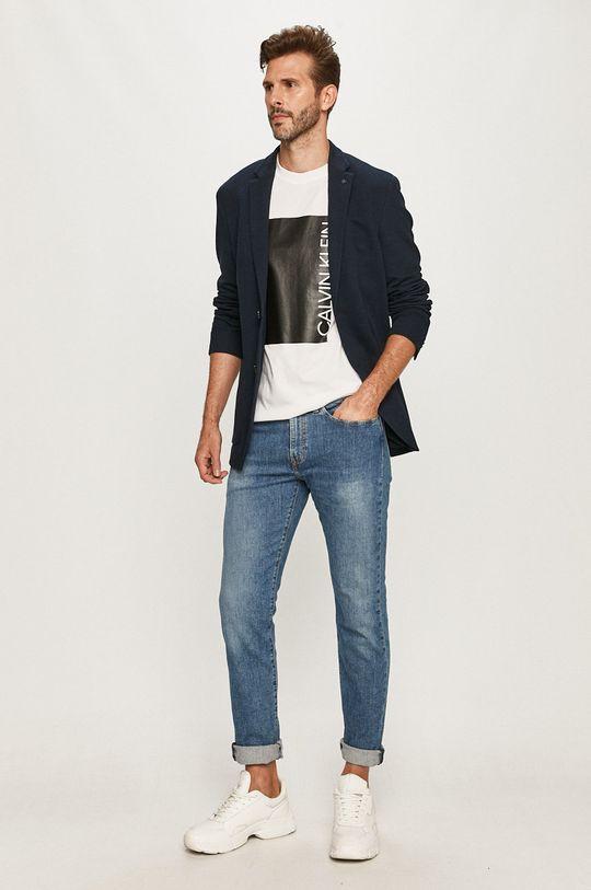 Calvin Klein - Sako  Podrážka: 67% Bavlna, 33% Polyester Podšívka vrecka: 35% Bavlna, 65% Polyester Podšívka rukáva: 5% Elastan, 95% Polyester