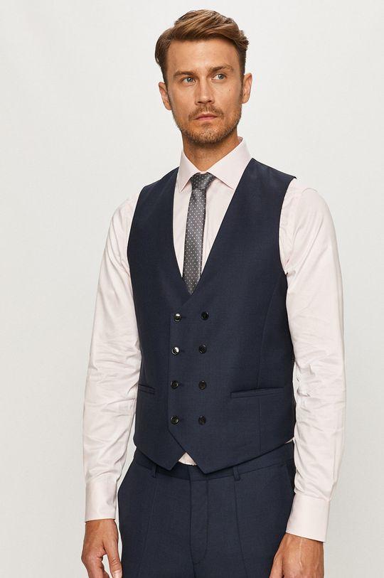 Hugo - Oblek  Podšívka: 100% Viskóza Základná látka: 8% Polyamid, 23% Polyester, 69% Panenská vlna