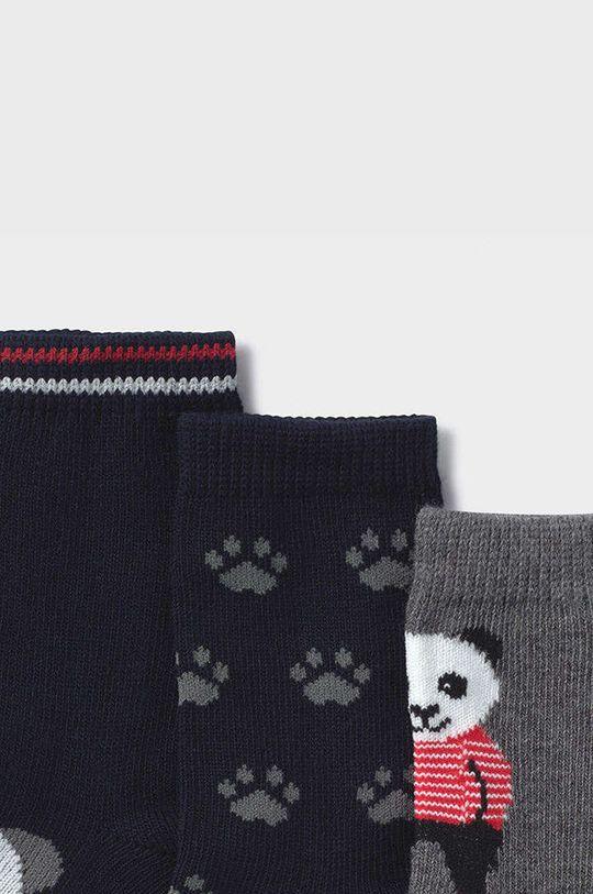 Mayoral Newborn - Detské ponožky (3-pak) modrá