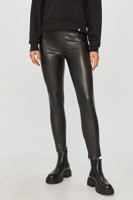 černá Guess Jeans - Kalhoty Dámský