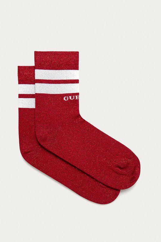 czerwony Guess Jeans - Skarpetki Damski