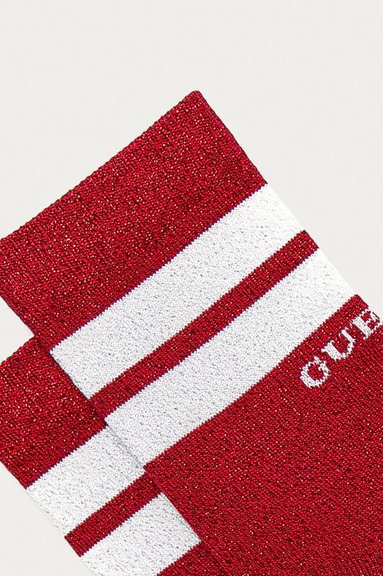 Guess Jeans - Skarpetki czerwony
