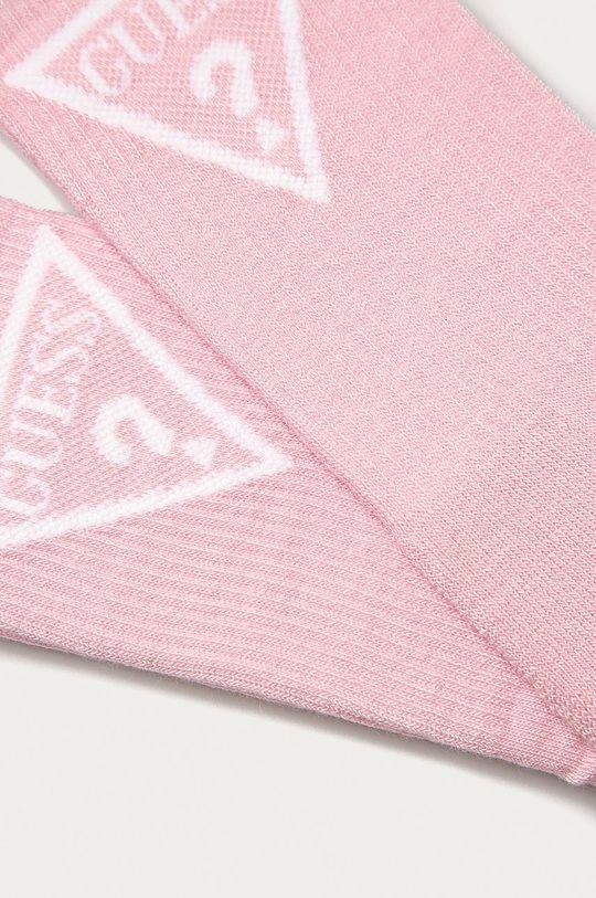 Guess Jeans - Zokni pirosas rózsaszín