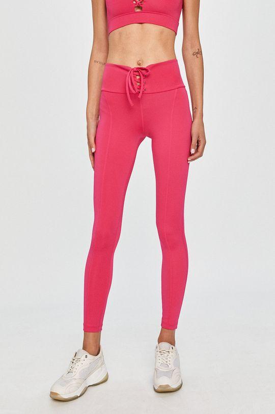 różowy Guess Jeans - Legginsy Damski