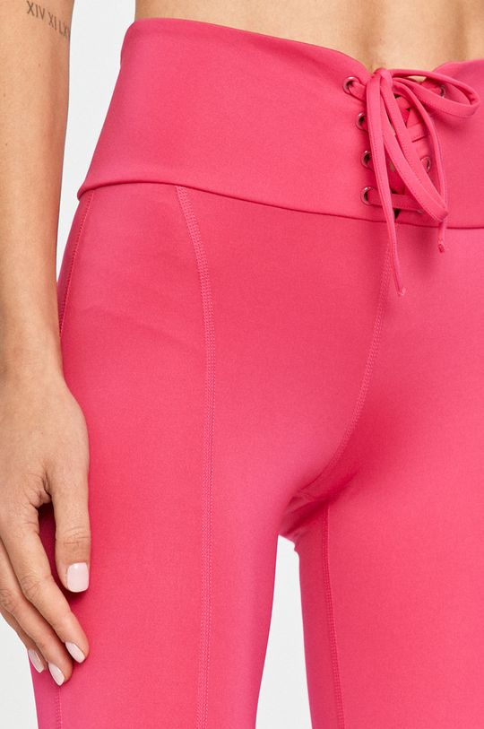 różowy Guess Jeans - Legginsy