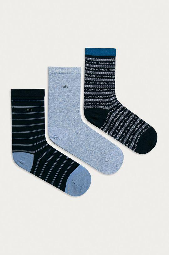 niebieski Calvin Klein - Skarpetki (3-PACK) Damski