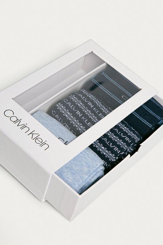 Calvin Klein - Skarpetki (3-PACK) niebieski
