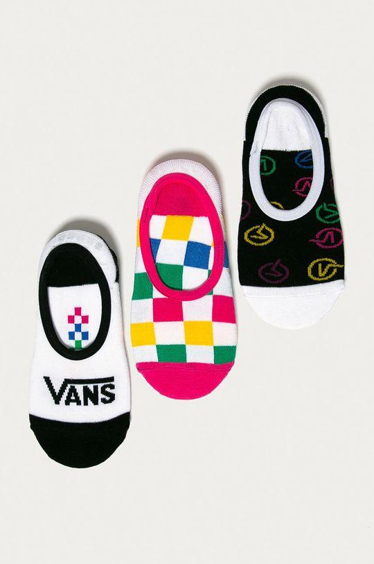 viacfarebná Vans - Členkové ponožky (3-pak) Dámsky