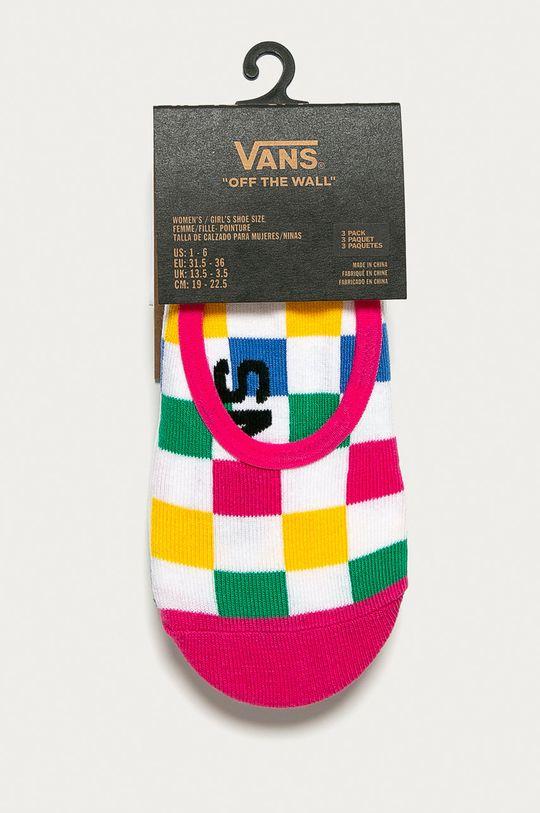 Vans - Členkové ponožky (3-pak) viacfarebná