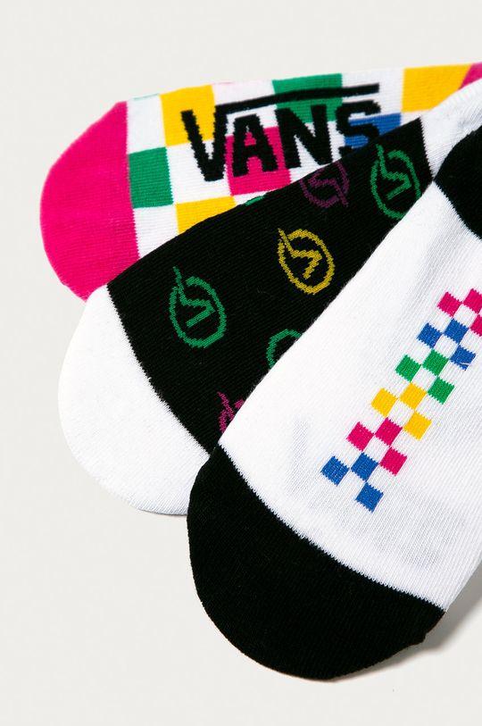 Vans - Členkové ponožky (3-pak)  76% Bavlna, 2% Elastan, 22% Nylón