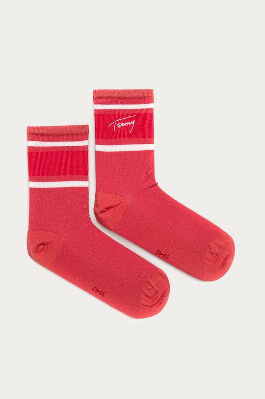pirosas rózsaszín Tommy Hilfiger - Zokni Női