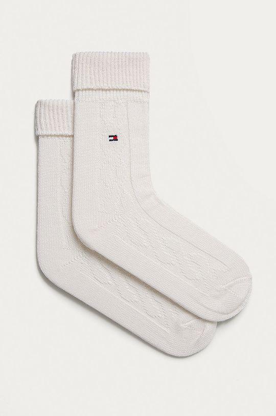 bílá Tommy Hilfiger - Ponožky Dámský
