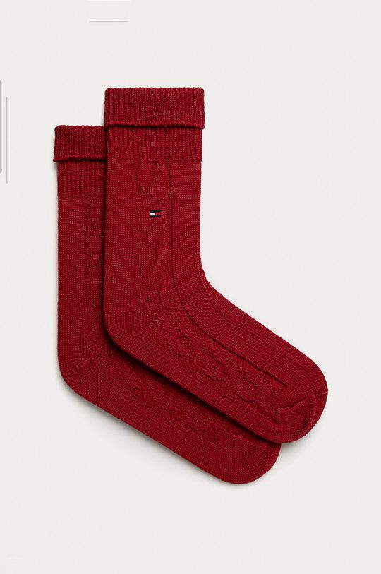 červená Tommy Hilfiger - Ponožky Dámský
