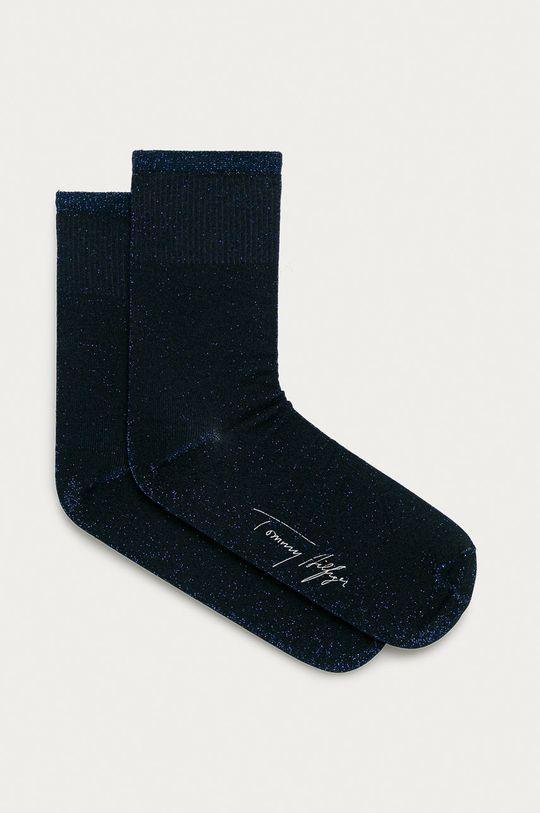 tmavomodrá Tommy Hilfiger - Ponožky Dámsky