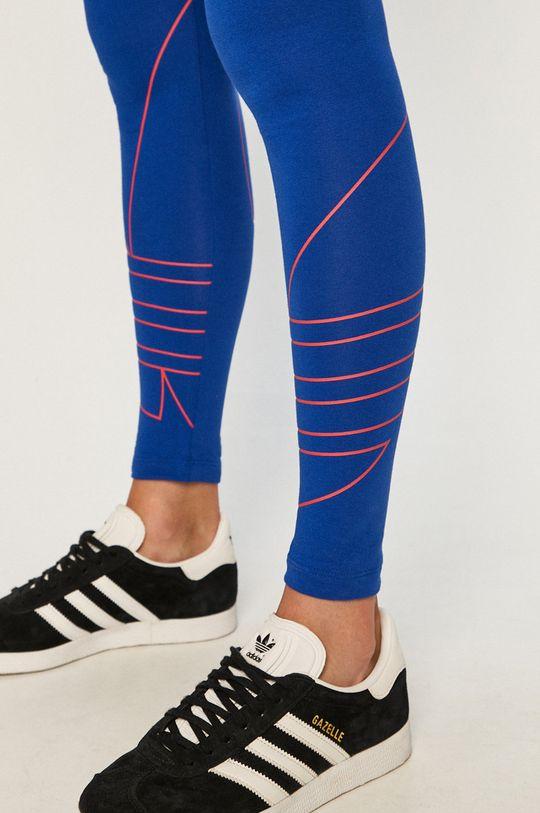 niebieski adidas Originals - Legginsy
