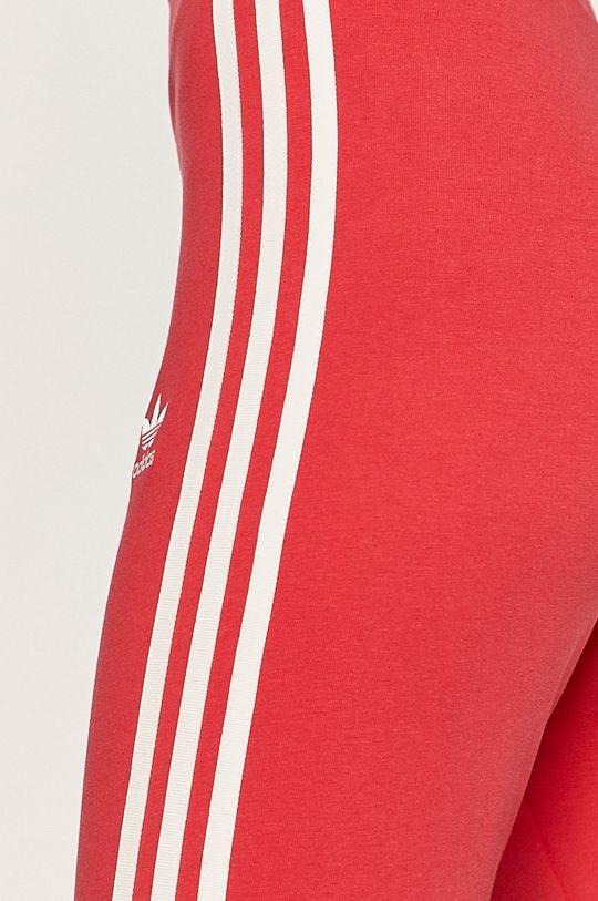 ostry różowy adidas Originals - Legginsy