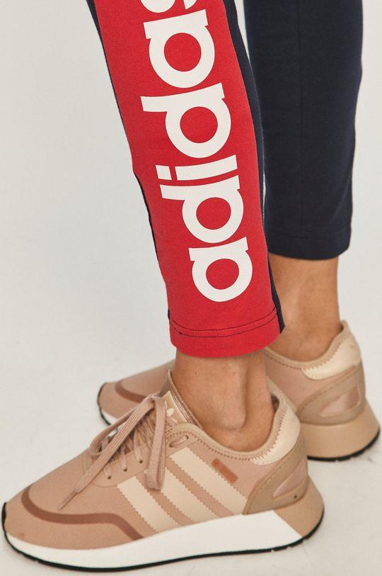 tmavomodrá adidas - Legíny