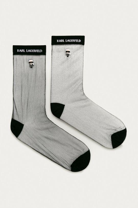 negru Karl Lagerfeld - Sosete (2-pack) De femei