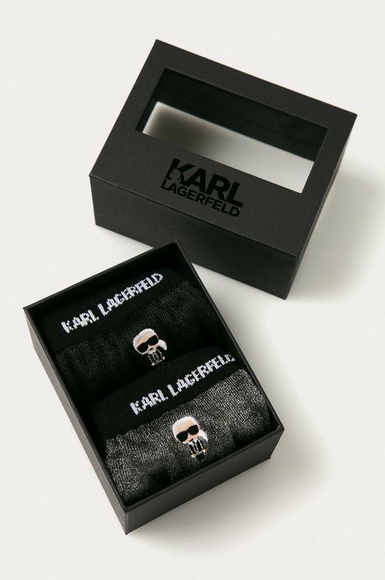 Karl Lagerfeld - Sosete (2-pack)  100% Poliester
