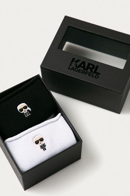 Karl Lagerfeld - Sosete (2-pack) negru