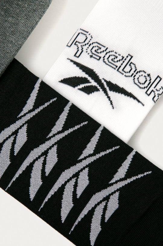 Reebok - Kotníkové ponožky (3-pack) vícebarevná