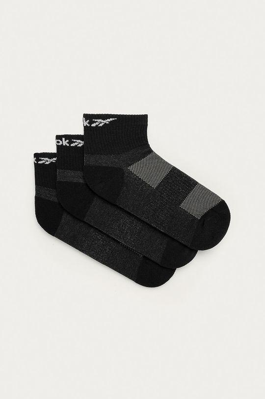 černá Reebok - Ponožky (3-pack) Dámský