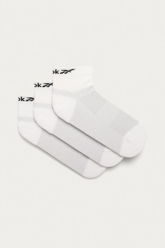 bílá Reebok - Ponožky (3-pack) Dámský