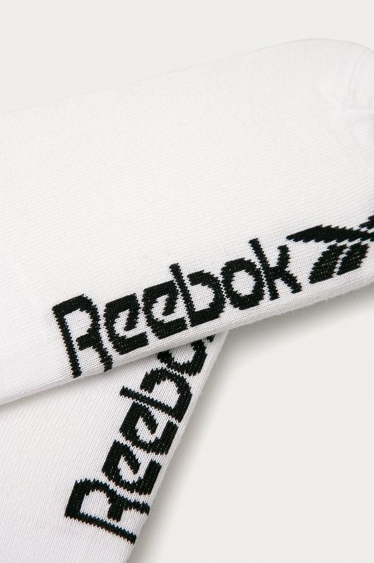 Reebok - Členkové ponožky (3-pak) biela