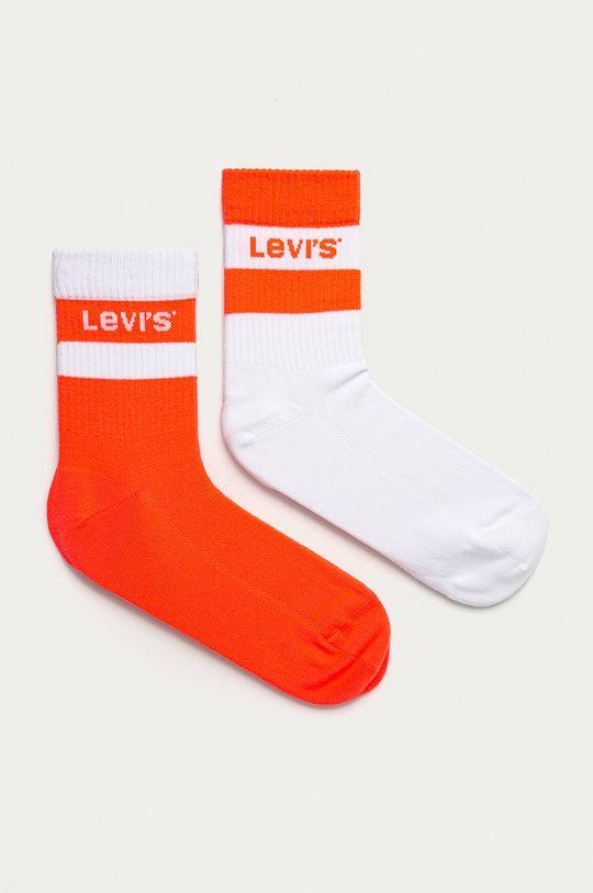 portocaliu Levi's - Sosete (2-pack) De femei