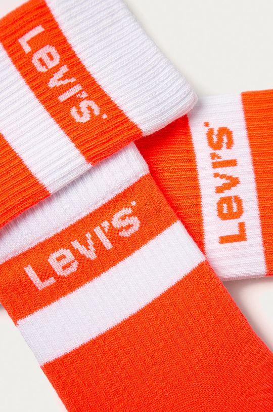 Levi's - Sosete (2-pack) portocaliu