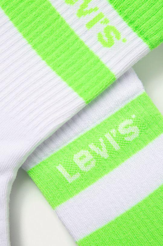 Levi's - Sosete (2-pack) galben – verde
