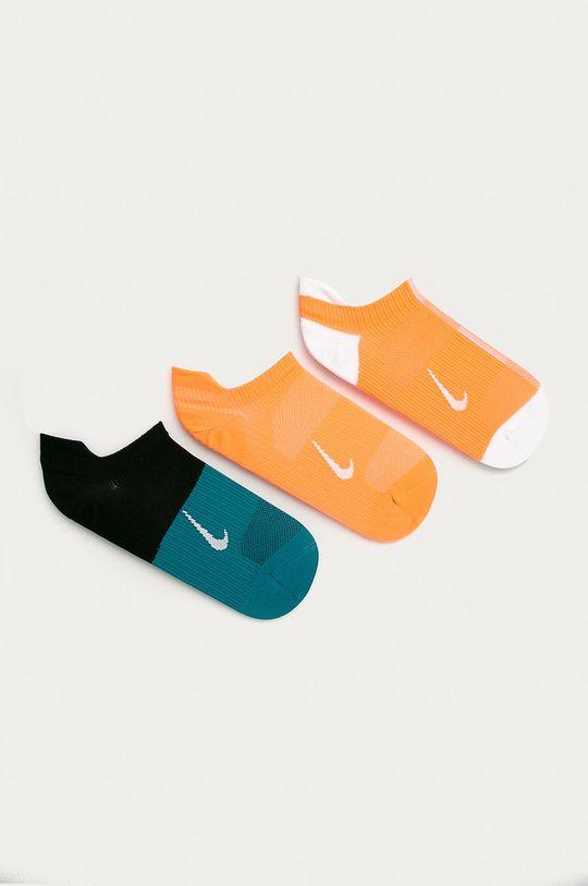 brzoskwiniowy Nike - Stopki (3-pack) Damski