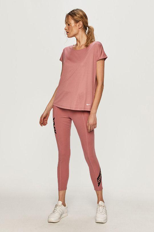 Nike - Legíny sýto ružová