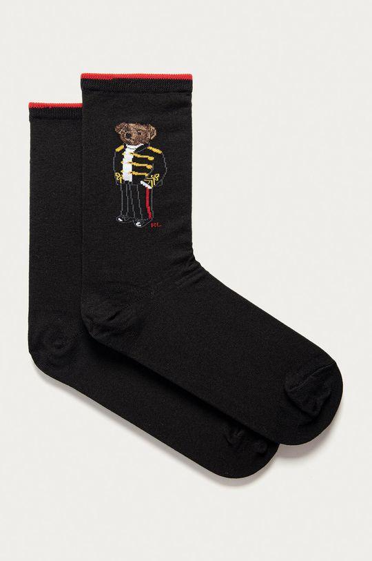 černá Polo Ralph Lauren - Ponožky Dámský
