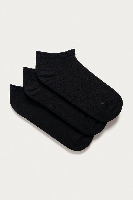 černá GAP - Kotníkové ponožky (3-pack) Dámský