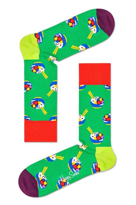 Happy Socks - Ponožky Healthy Lifestyle (3-pak) zelená