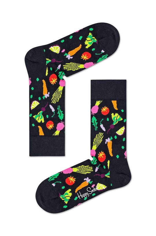 zelená Happy Socks - Ponožky Healthy Lifestyle (3-pak)