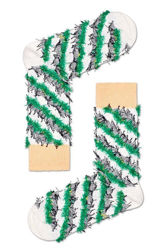 biela Happy Socks - Ponožky Lashes Dámsky