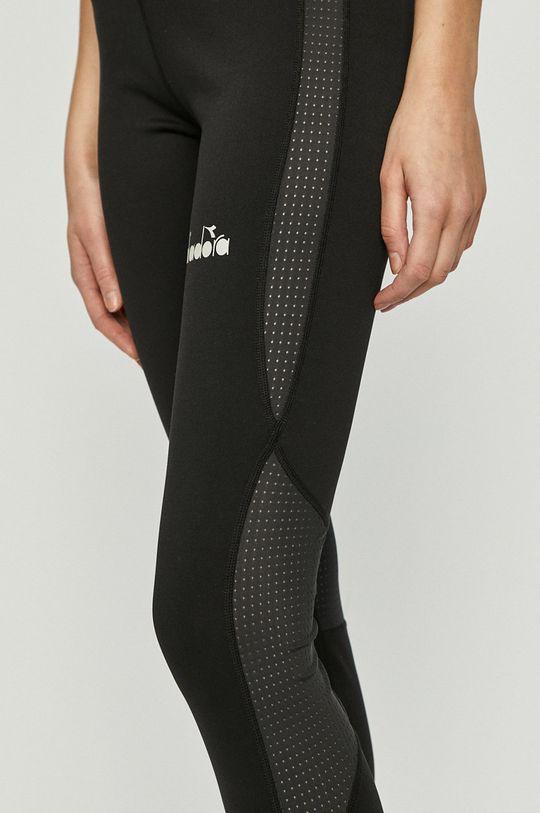 czarny Diadora - Spodnie