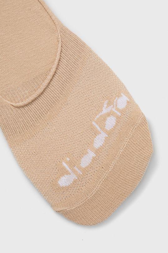 Diadora - Kotníkové ponožky (3-pack) smetanová