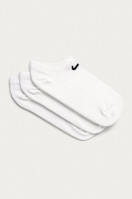 biały Nike - Stopki (3-pack) Damski