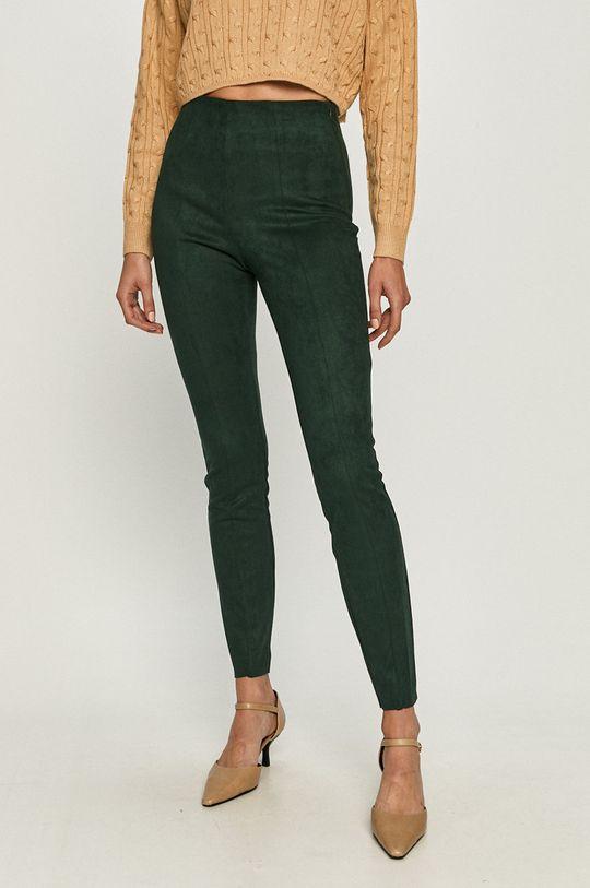 zielony Vero Moda - Spodnie Damski